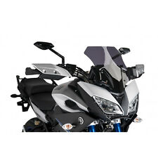 Puig Yamaha MT-09 Tracer 2015-2018 Dark Tint Airflow Double Bubble Screen MT09