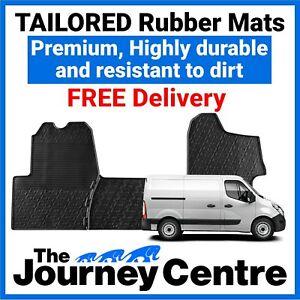 Nissan NV400 2014 on - Tailored Front Rubber Floor Mats Premium Van Mats