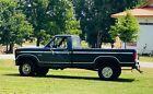 1985 Ford F-150  1985 Ford F-150 Pickup Black 4WD Manual