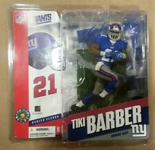 McFarlane Sportspicks NFL series 11 TIKI BARBER action figure-NY Giants-NIB