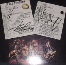 RAMONES SIGNED X4 PACO RAMONE POUR HOMME VINYL LP RARE JOHNNY JOEY DEE DEE MARKY