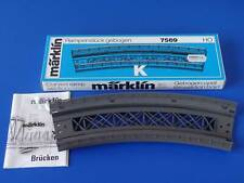 MARKLIN H0 - 7569 - CURVED RAMP SECTION - K Track / BOX - NEW