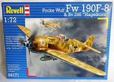"""1:72 REVELL - FOCKE WULF FW 190F-8 & Bv 246 """"Hagelkorn"""" - REF. 04171 -  NUOVO"""