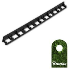 1m Lawn Edge Bed Enclosure Flowerbed Border PVC Mähkante 58/1000mm Bradas 0568