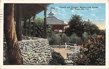 BR45351 Pergola and Pavilion mission cliff garden san Diego usa