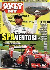 AutoSprint.Lewis Hamilton & Ferrari,Gp Belgio,Nando Parrado,Guy Ligier,ggg