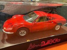 FERRARI DINO 246 GT ELITE 1/18 RED N2044 NEW NO BBR