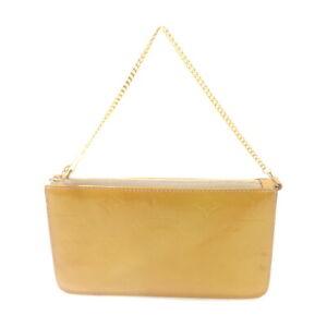 Louis Vuitton LV Accessories Pouch Bag Lexington M91010 Yellows Vernis 1519271