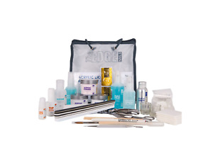 The Edge NAILS Full Acrylic Liquid and Powder Starter Kit False Tips BRAND NEW