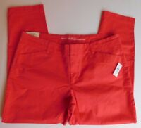 NWT GAP Women's Slim City Rose Crop Pants Stretchy Size 16 MSRP$50 New