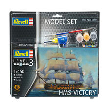 Revell HMS Victory Model Set (Level 3) (Scale 1:450) Model Kit NEW