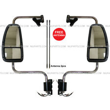 International 9200 9400i 9900i Door Mirror Power Heated Chrome with Arm LH & RH