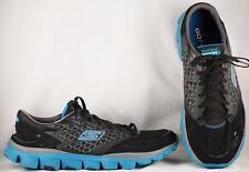 Men's Shechers M Strike Go Run Black/Blue Running Shoes US 13 UK 12 EUR 47