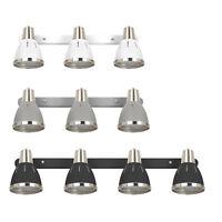 Industrial Sconce Adjustable 3/4 Lights Wall Lamp Spotlight E27 Socket Dining