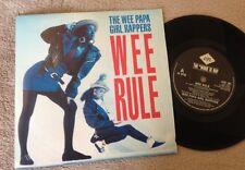 """7""""  WEE PAPA GIRL RAPPERS WEE RULE 1988."""
