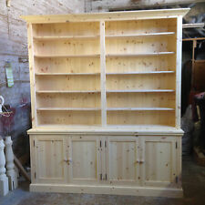 HANDMADE SOLID PINE BOOKCASE / STORAGE UNIT