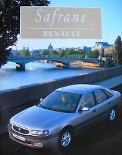 """@ RENAULT BROCHURES """" CATALOGUE de SAFRANE grand format de 48 Pages """" 08 / 1996"""