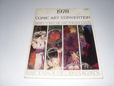 1978 Comic Art Convention : G/VG