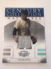Satchel Paige 2008 Donruss Threads Century Collection Jersey/Relic #88/100