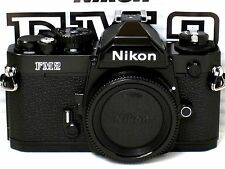 ** NEW  * NEVER USED ** Nikon FM2N Black Camera Body Pristine