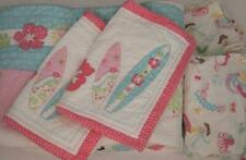 New ListingPottery Barn Kids Girl's Quilt Sham North Shore Sheet Set Full Queen Free Ship!