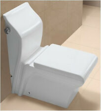 One Piece Toilet - Modern Bathroom Toilet - Dual Flush Toilet - Moriano 28.3""