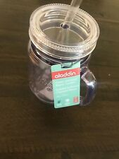 Aladdin Classic Insulated Mason Tumbler with straw 20 Oz Clear Great Deal!!!!!!!
