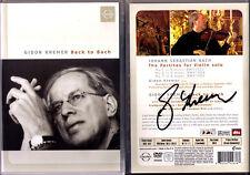 DVD Gidon KREMER Signiert BACK TO BACH Partitas Solo Violin No.1-3 & Documentary