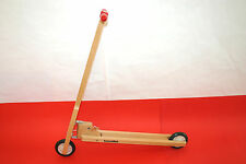 Vintage Rare Toy Wooden Big Kick Scooter KOUVALIAS Greece Nostalgic Piece