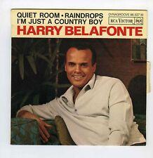 45 RPM EP HARRY BELAFONTE QUIET ROOM (1966)
