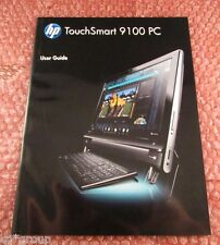 581790-001 - HP Touchsmart 9100 PC User Guide in Very Good Condition 581790-002