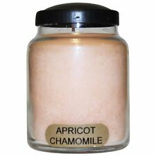 Apricot Chamomile Keeper's of the Light Jar Candle 6 oz. Baby Jar, Super Scented