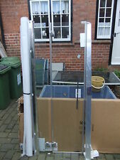 Shower enclosure MERLYN in line left hand glass & NEW 45 + 22cm 184cm high