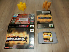 PAL N64: Operation WinBack Game Ex-rental cut-out box and Manual Nintendo 64