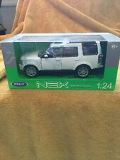 WELLY 1:24 LAND ROVER DISCOVERY 4 DIE-CAST White 24008