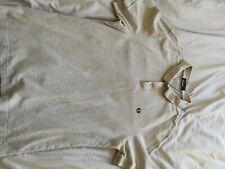 Mens Fred Perry Grey Polo Large Textured