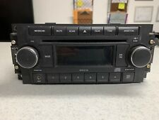 OEM DODGE JEEP PATRIOT AM FM Radio CD Disc Player with AUX IN STEREO RECEIVER