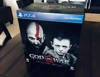 God of War Collector's Limited Edition BOX ONLY (NO GAME!) Sony PS4 PlayStation