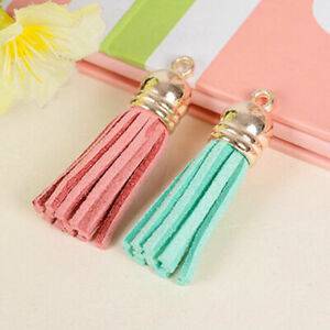 Colorful Tassel Charm Pendant DIY For Keychain Accessories Decoeation Bag Gift