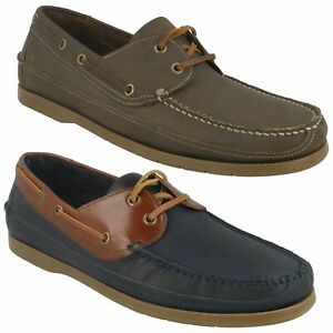MENS ANATOMIC VIANA CASUAL DECK BOAT LACE UP LEATHER CUSHIONED SHOES SIZE