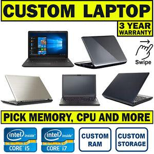 FAST WINDOWS 10 - INTEL CORE i3 i5 i7 - 4GB 8GB 16GB - 500GB 1TB - CHEAP LAPTOP