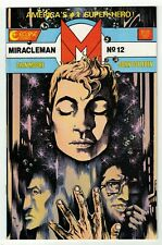 MIRACLEMAN #12 (NM-) Alan Moore John Totleben Nice Copper-Age Issue Eclipse 1987