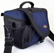 Lowerpro NOVA 3 AW - DSLR Camera Bag Backpack - Black Blue