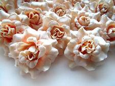 "(24pcs) 1.75"" Silk Cream Roses - Artificial Flower Heads - Wedding decoration"