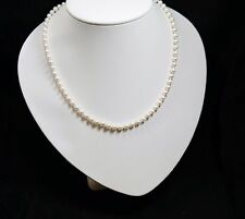 Pearl Necklace with 14KT Clasp