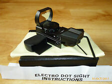 Red & Green Electro Dot Sight avec 4 Réticules & 5 Illumination Levels, BNB