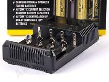Nitecore NEW i4 - Inteligentes Ladegerät für Li-Ion, LiFePo4, Ni-MH, Akkus
