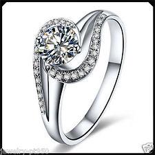 0.50CT Synthetic Diamond Platinum PT950 Engagement Wedding Retro Ring White Gold