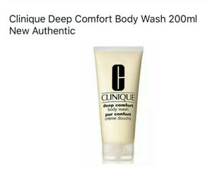 Clinique Deep Comfort Body Wash 200ml New Authentic