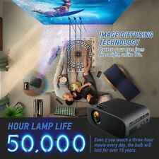 1080P HD Home Theater Projector LCD Screen 18000 Lumens 3D Video Movie Cinema